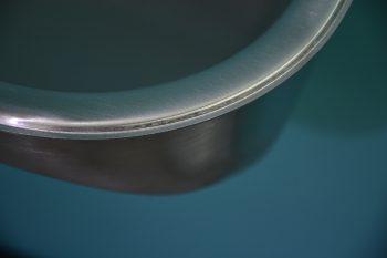355001 Edelstahl Waschtrog SOLID 550