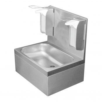 Edelstahl Waschtisch Hygiene 55x40