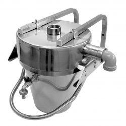 HE300703 Edelstahl Gipsabscheider 9 Liter