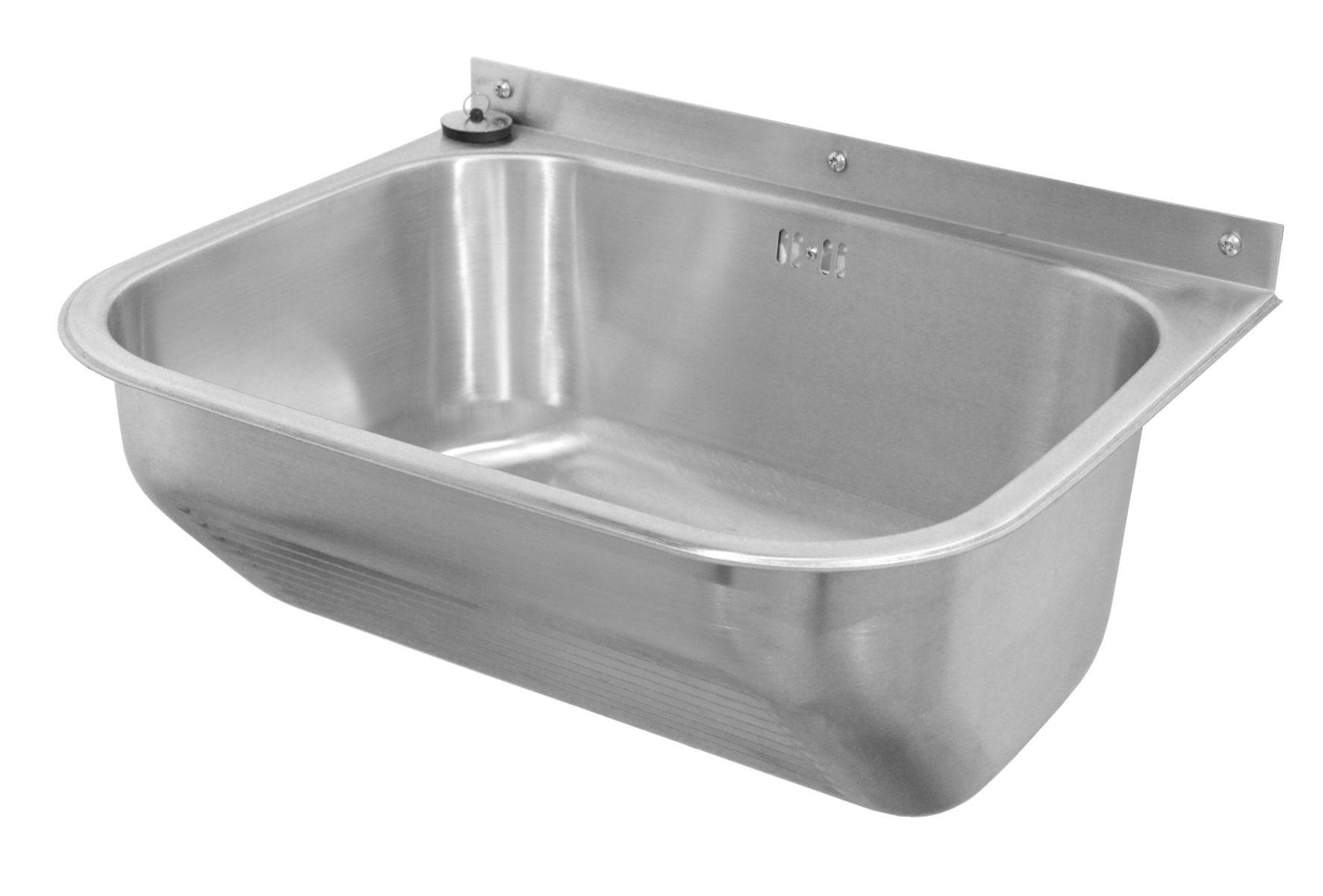 Edelstahl Waschtrog SOLID 550x450 HE355001