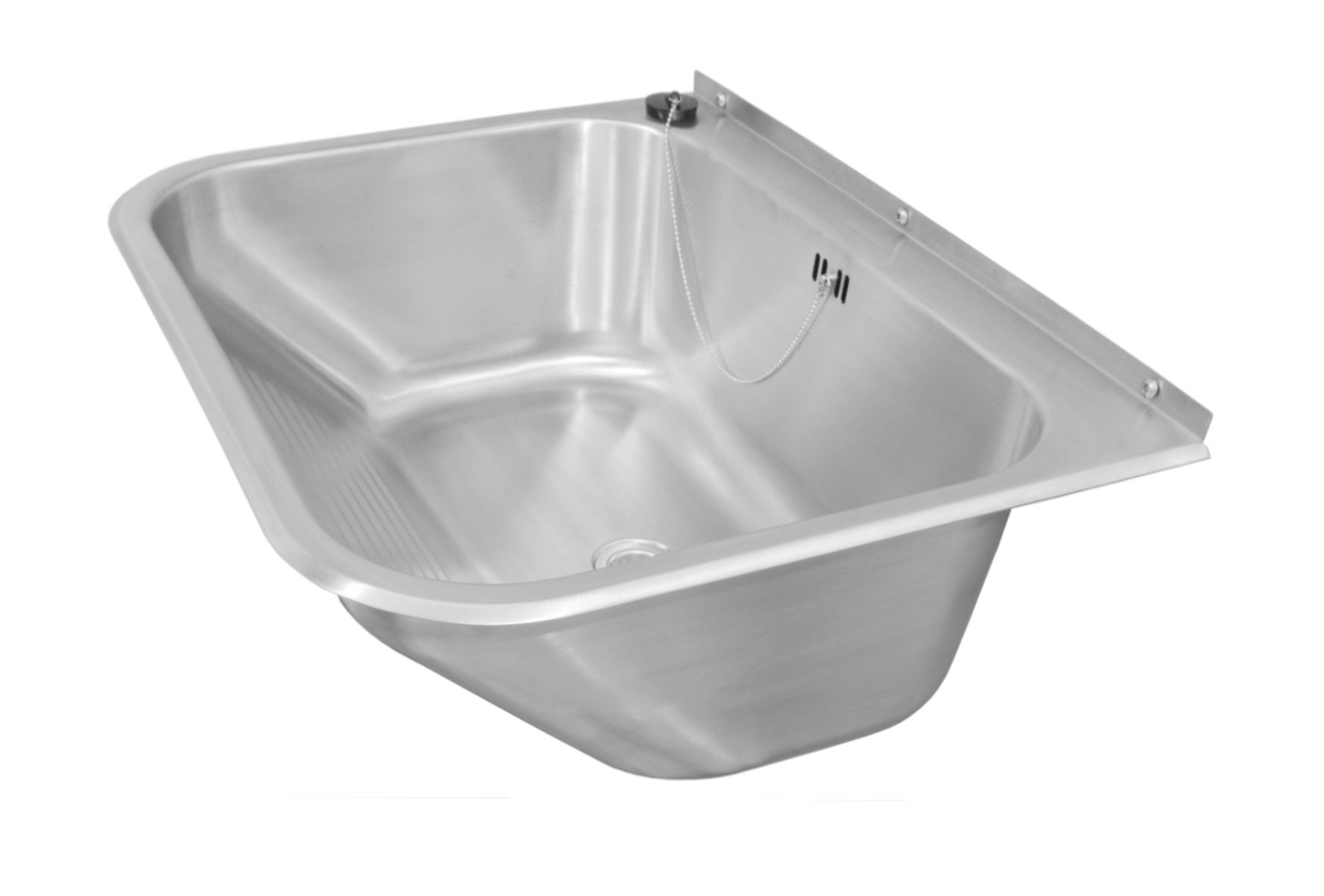 Waschtrog Edelstahl SOLID 650