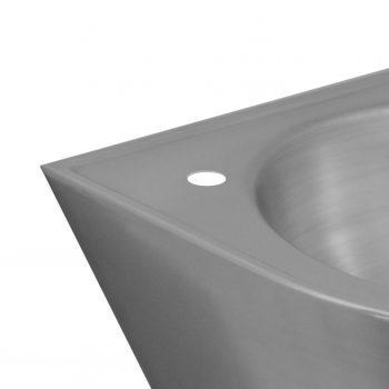 Hahnlochbohrung Ø22 links für Waschtisch 104040A
