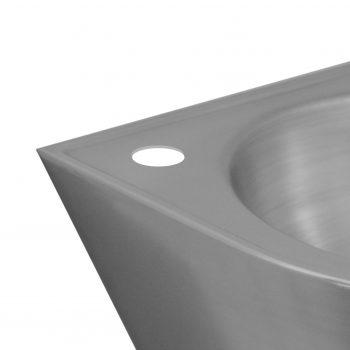 Hahnlochbohrung Ø35 links für Waschtisch 104040A