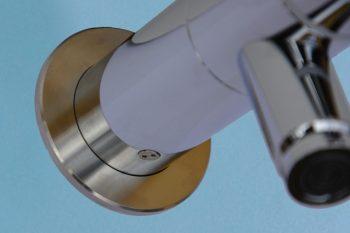 HE160200 Wand-Selbstschluss-Ventil Solid-Justiz mit diebstahlsicherer Wandmontage