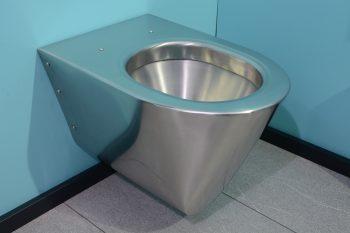 650600 Edelstahl WC Silent Komfort 535wh