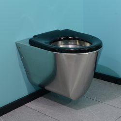 Edelstahl WC