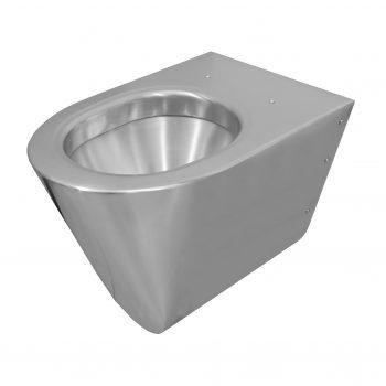 650600 Edelstahl WC Komfort Silent mit 3 mm Push-Fit