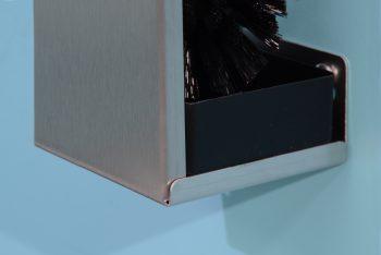 840100 Edelstahl-WC-Bürstengarnitur Serie Funktion Becher