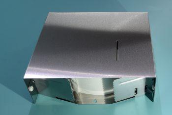 840560-Edelstahl Jumbo-WC-Rollenhalter Serie Funktion Entnahme