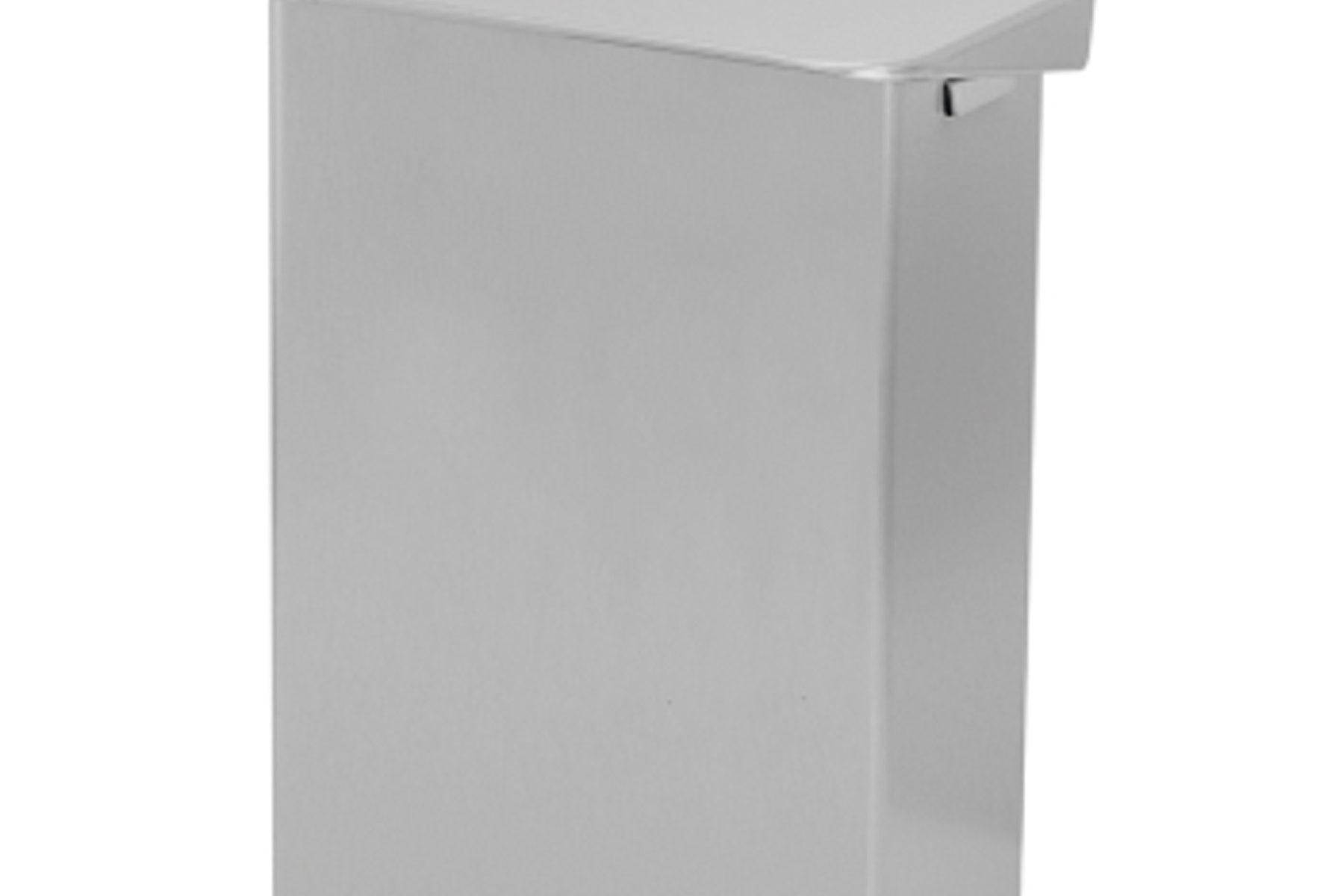 865721 Edelstahl Hygiene-Abfallsammler mit Deckel 6L
