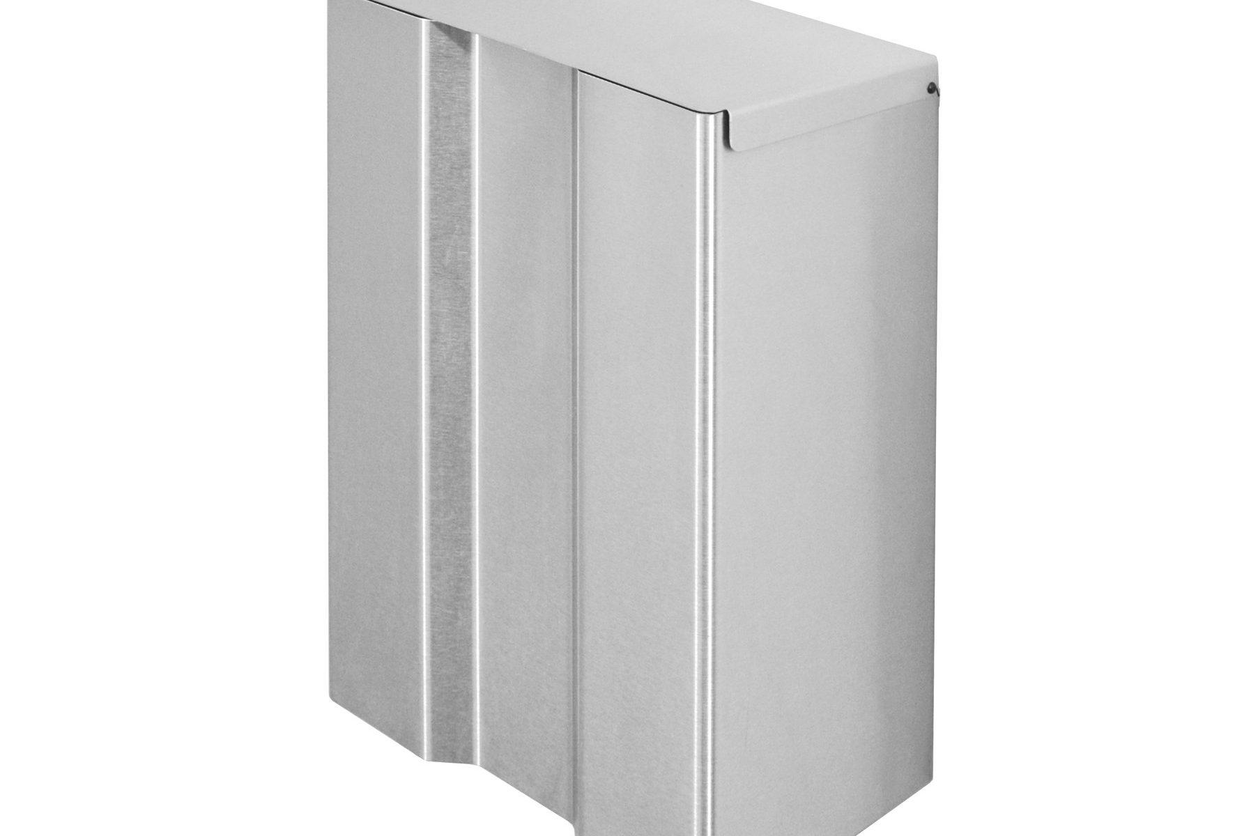870755 Edelstahl Hygiene-Abfallsammler